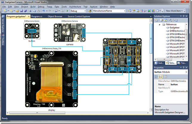 net gadgeteer i VS