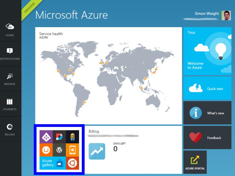 New Azure Portal