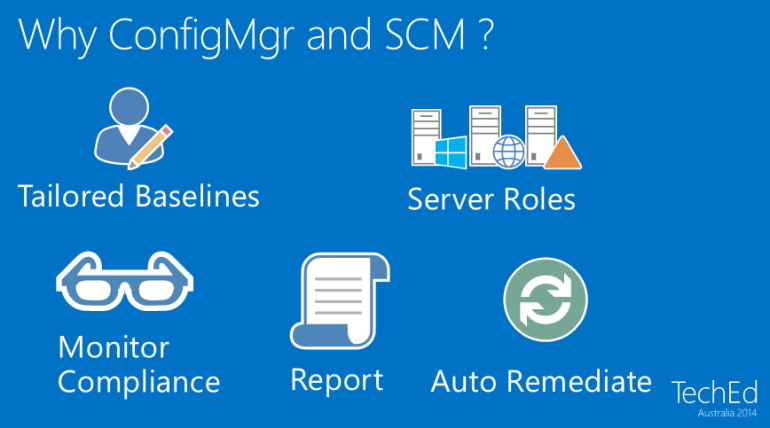 Why ConfigMgr and SCM