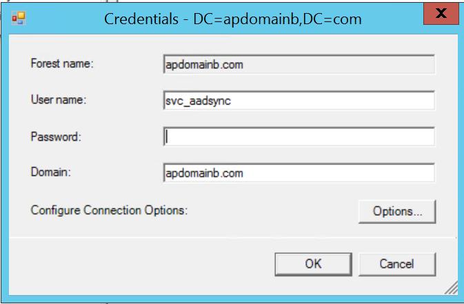 ADMA_SetCredentials2