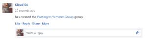 YammerGroup