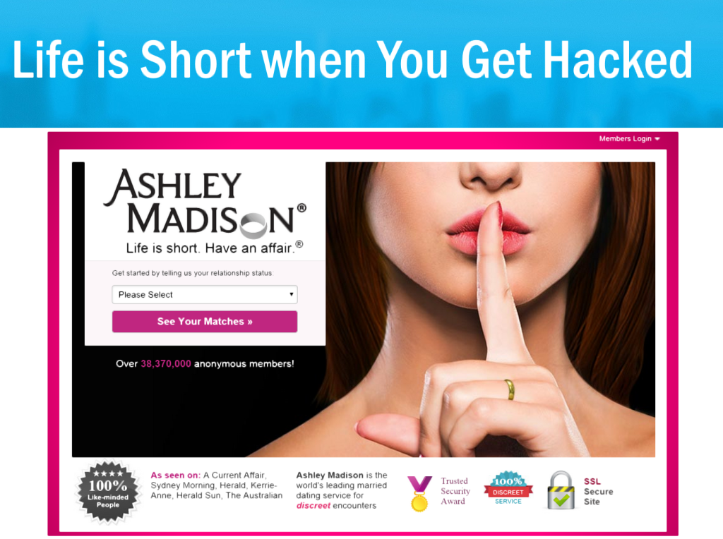 Life is Short when You get Hacked
