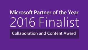 2016 Finalist Collaboration and Content