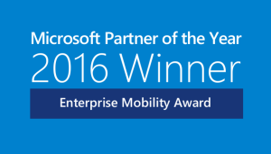 2016 Winner Enterprise Mobility