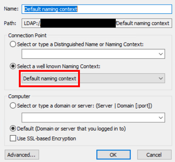 default-naming-context