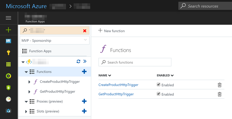 Azure Functions with Swagger | Kloud Blog