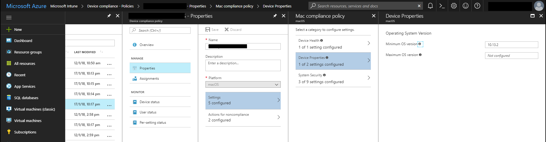 Using Intune and AAD to protect against Spectre and Meltdown
