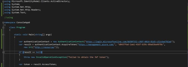 Windows Azure Service Management API 1