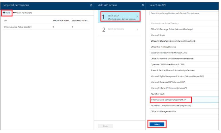Windows Azure Service Management API